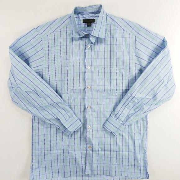 839dc639 Ermenegildo Zegna Italy Long Sleeve Collar Shirt